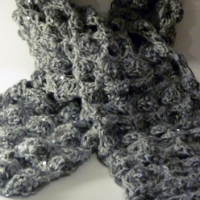 The snow scarf, the story behind  creating a project.