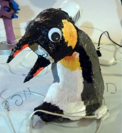 pinguin lamp
