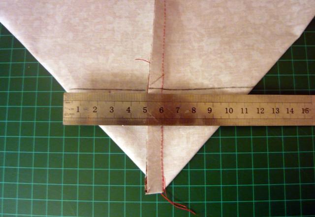 making a triangle