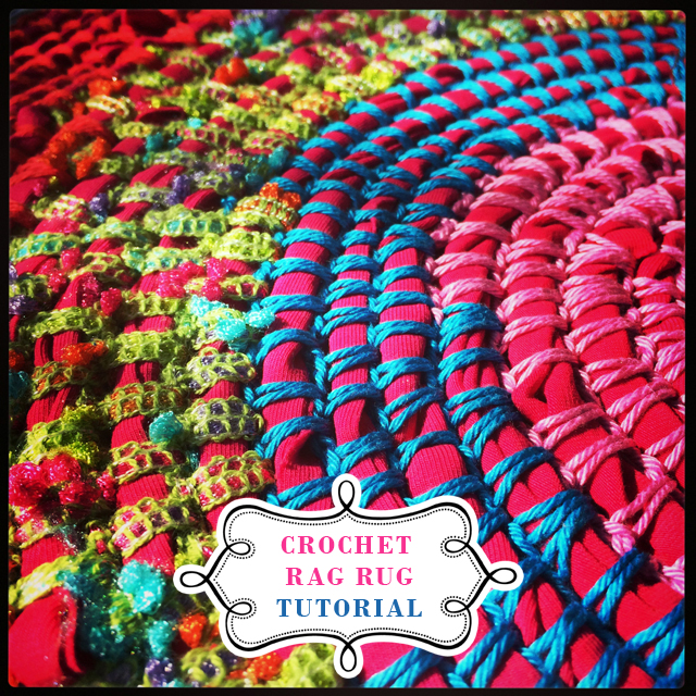 Crocheting A Rug : crochet rag rug tutorial