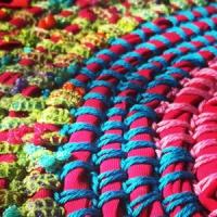 Rag rug crochet Tutorial
