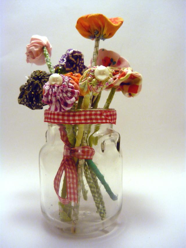 yoyo flower boquet