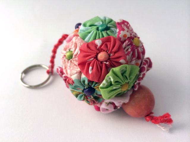 Yoyo key ring