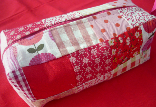 May 10 - the patchwork pencil case