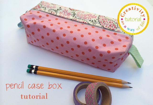 pencil case box tutorial